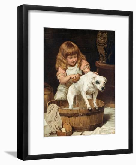 The Order of the Bath-Charles Burton Barber-Framed Giclee Print