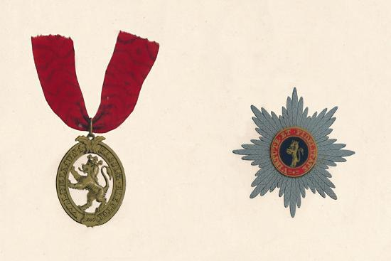 'The Order of the Lion D'Or', c19th century-Unknown-Giclee Print