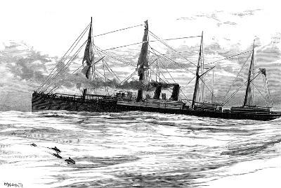 The Orient Steam Navigation Company's Steamship Orient, C1880--Giclee Print
