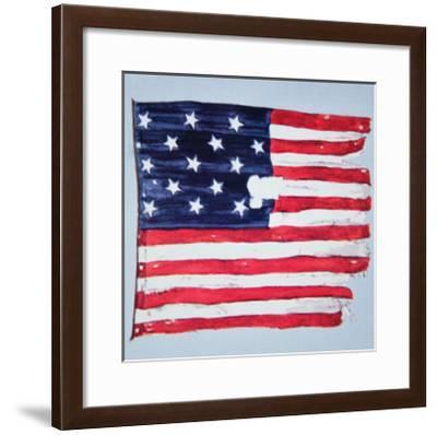 The Original Star-Spangled Banner--Framed Giclee Print