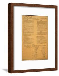 The Original United States Constitution