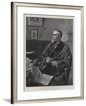 The Originator of Imperial Penny Postage-Sydney Prior Hall-Framed Giclee Print