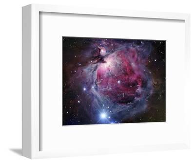 The Orion Nebula-Stocktrek Images-Framed Photographic Print