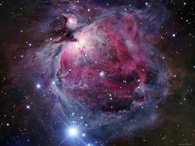 The Orion Nebula-Stocktrek Images-Photographic Print