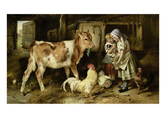 The Orphan, 1887-Walter Hunt-Giclee Print