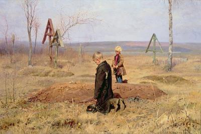 The Orphans, 1891-Nikolaj Alekseevich Kasatkin-Giclee Print