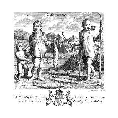 The Ostiacks, 19th Century-T Spendelone-Giclee Print