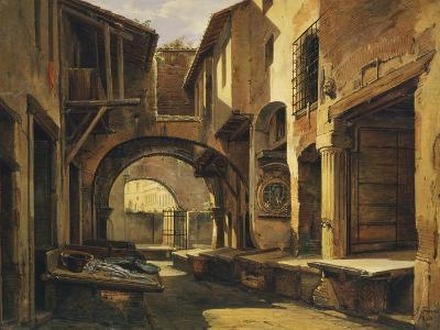 The Ottavia Portico in Rome-Giovanni Faure-Giclee Print