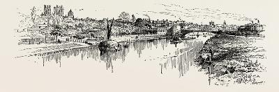 The Ouse at York, Uk. the River Ouse Is a River in North Yorkshire, England--Giclee Print