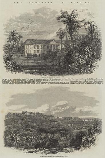 The Outbreak in Jamaica-Edmund Morison Wimperis-Giclee Print