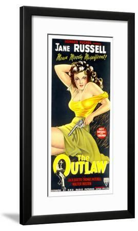 The Outlaw, Jane Russell, 1943--Framed Photo