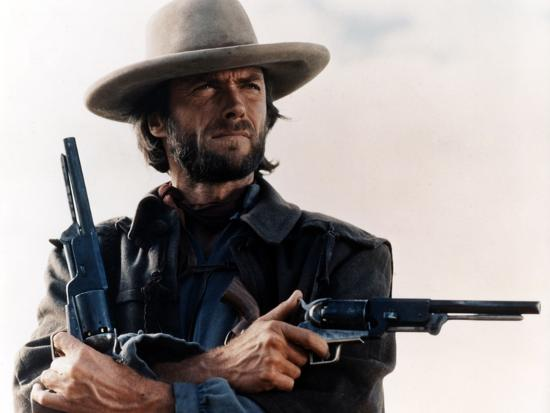 The Outlaw Josey Wales, Clint Eastwood, 1976--Photo