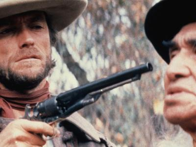 The Outlaw Josey Wales, Clint Eastwood, Chief Dan George, 1976--Photo