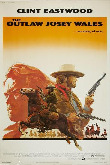 The Outlaw Josey Wales--Art Print