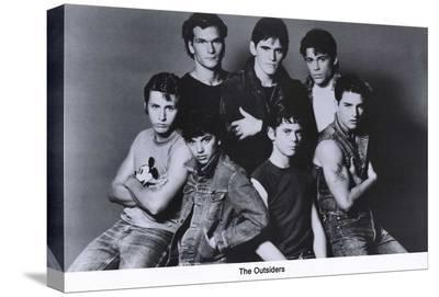The Outsiders--Stretched Canvas Print