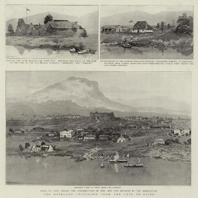 The Overland Telegraph from the Cape to Cairo--Giclee Print
