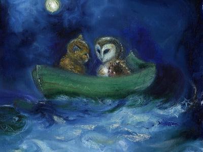 The Owl and the Pussycat, 2014-Nancy Moniz-Giclee Print
