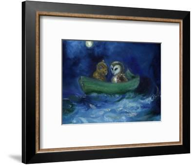 The Owl and the Pussycat, 2014,-Nancy Moniz Charalambous-Framed Premium Giclee Print