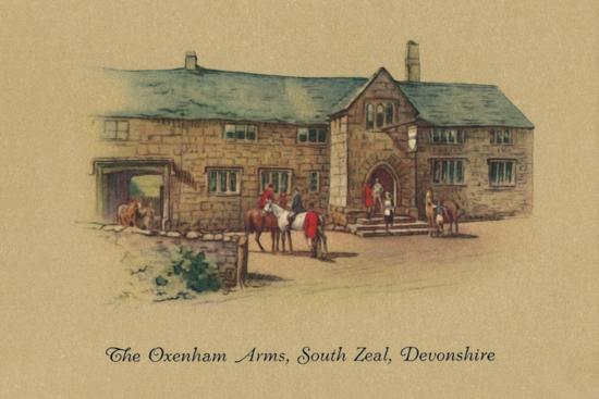 'The Oxenham Arms, South Zeal, Devonshire', 1939-Unknown-Giclee Print
