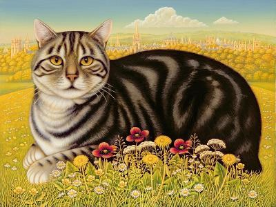 The Oxford Cat, 2001-Frances Broomfield-Giclee Print