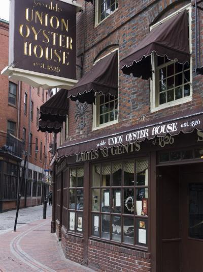 The Oyster Union House, Blackstone Block, Built in 1714, Boston, Massachusetts-Amanda Hall-Photographic Print