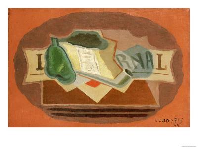 The Packet of Tobacco-Juan Gris-Giclee Print