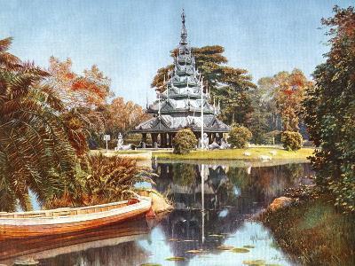The Pagoda, Eden Gardens, Calcutta, India, Early 20th Century--Giclee Print