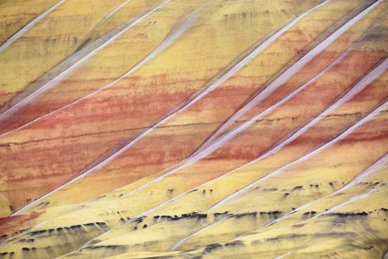 The Painted Hills In The John Day Fossil Beds National Monument In Eastern Oregon-Ben Herndon-Photographic Print