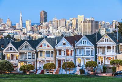 The Painted Ladies of San Francisco-prochasson-Photographic Print
