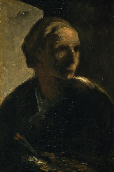 The Painter, C.1863-66-Honore Daumier-Giclee Print