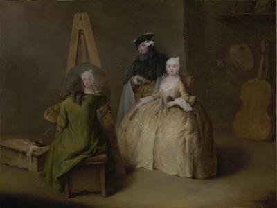The Painter in His Studio, c.1741-4-Pietro Longhi-Giclee Print