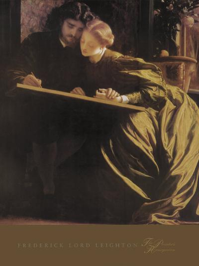 The Painter's Honeymoon, 1864-Frederick Leighton-Art Print