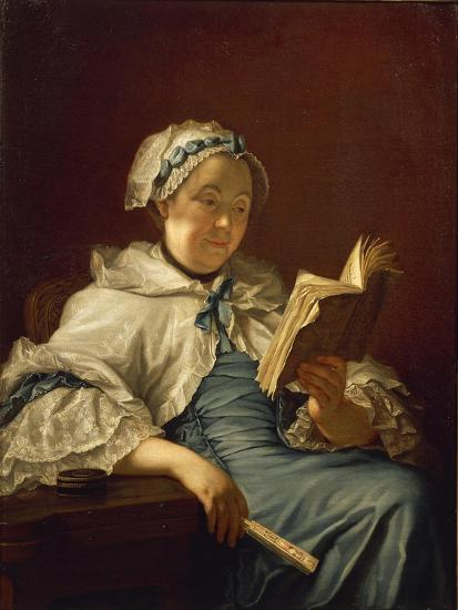 The Painter's Wife Reading, 1758-Donatello-Giclee Print