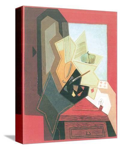 The Painter's Window-Juan Gris-Stretched Canvas Print
