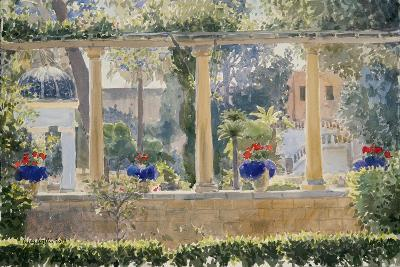 The Palace Garden, 2012-Lucy Willis-Giclee Print