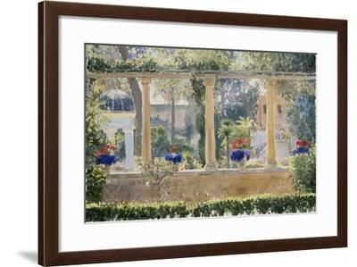 The Palace Garden, 2012-Lucy Willis-Framed Giclee Print