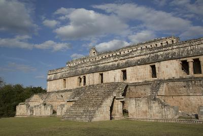 The Palace, Kabah Archaeological Site, Yucatan, Mexico, North America-Richard Maschmeyer-Photographic Print