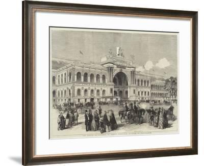 The Palace of Industry, or French Exhibition Building, at Paris--Framed Giclee Print