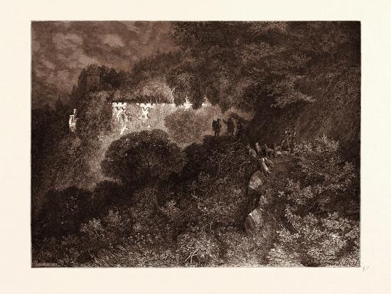The Palace of Sleep-Gustave Dore-Giclee Print