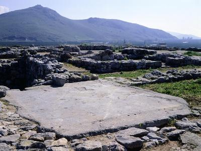 The Palace of Tiryns, Greece, Mycenaean Civilization, 8th Century BC--Giclee Print