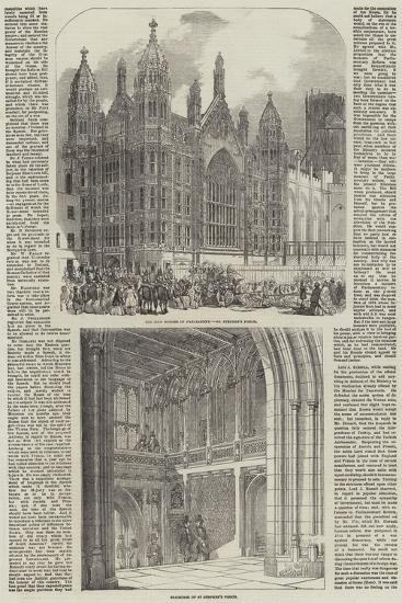 The Palace of Westminster--Giclee Print