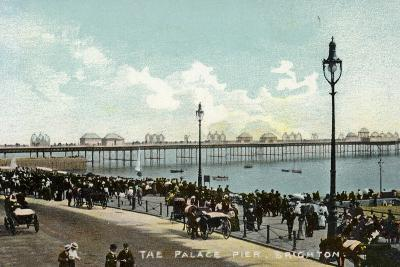 The Palace Pier in Brighton--Photographic Print