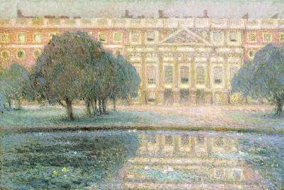 The Palace, Summer Morning-Henri Eugene Augustin Le Sidaner-Giclee Print