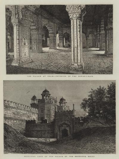 The Palaces at Delhi--Giclee Print