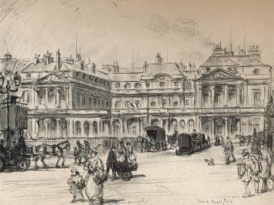 The Palais-Royal, 1915-Frank Milton Armington-Giclee Print
