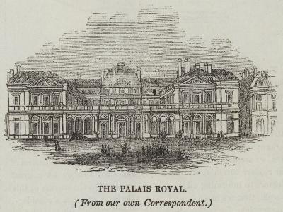 The Palais Royal--Giclee Print