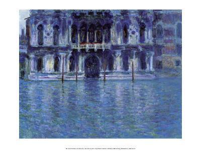 The Palazzo Contarini, 1908-Claude Monet-Art Print