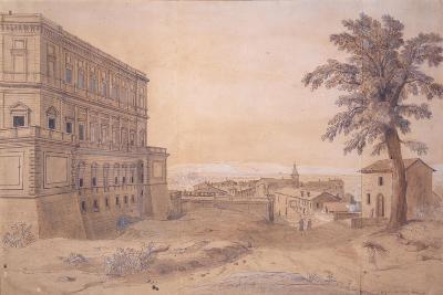 The Palazzo Farnese at Caprarola-Gaspar van Wittel-Giclee Print