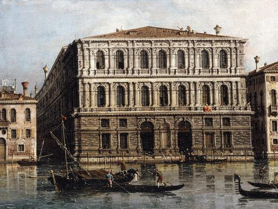 The Palazzo Pesaro from the Grand Canal, Venice--Giclee Print