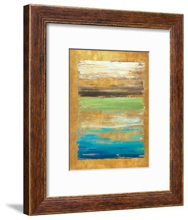 The Palette in Gold-Patricia Pinto-Framed Art Print